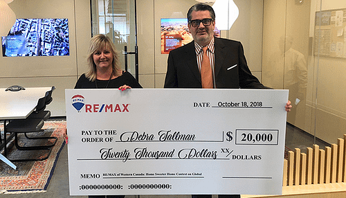 RE/MAX Contest Awards $20,000 Towards a Home Sweeter Home