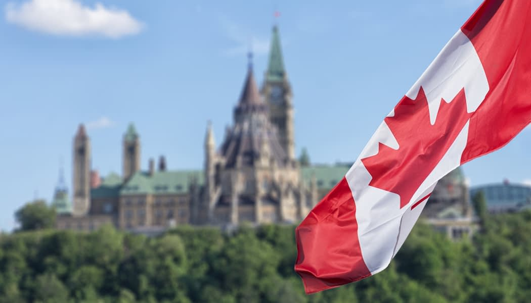 Canadian Parliament Buildings and Canadian real estate