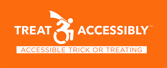 Accessible Trick Or Treating blog header